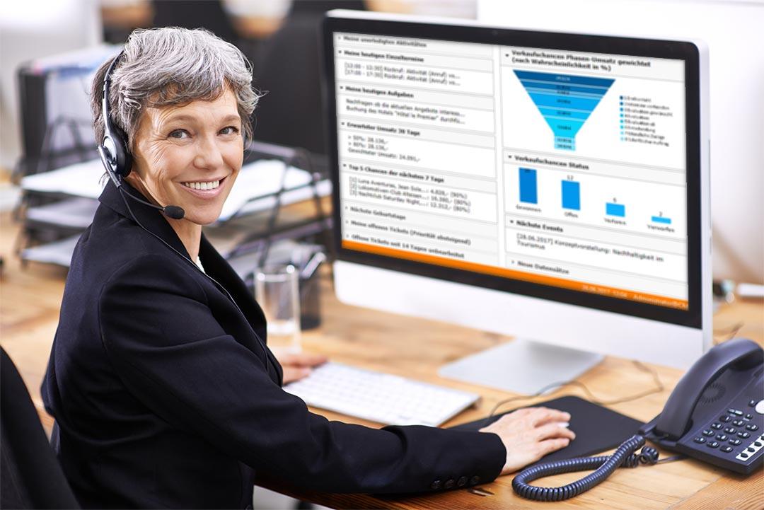 Telefonlisten, Termine und Aufgaben managen