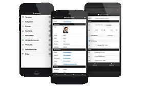 CRM WebAccess mobile