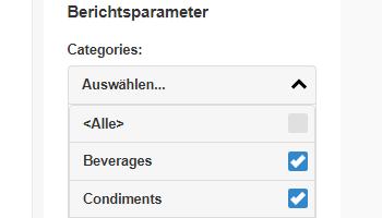 Report parameter