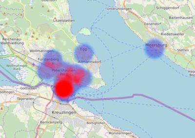 Heatmap zu Verkaufszahlen