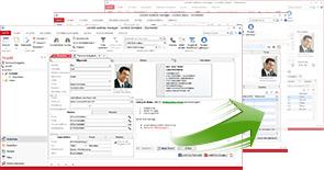 Benutzeroberfläche und Ansicht des Programms