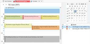 Terminverwaltung und Projektmanagement