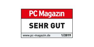 PC Magazin bewertet combit CRM mit SEHR GUT