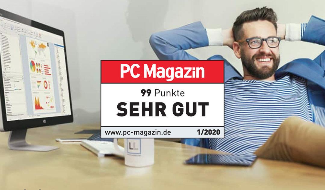 """PC Magazin bewertet List & Label mit """"SEHR GUT"""""""