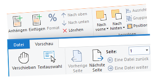 Neue Ribbon-Icons im Office 2019 Stil
