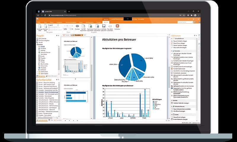 combit crm cloud im browser fuer pc und notebook