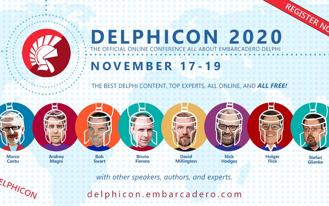 combit sponsert die DelphiCon 2020