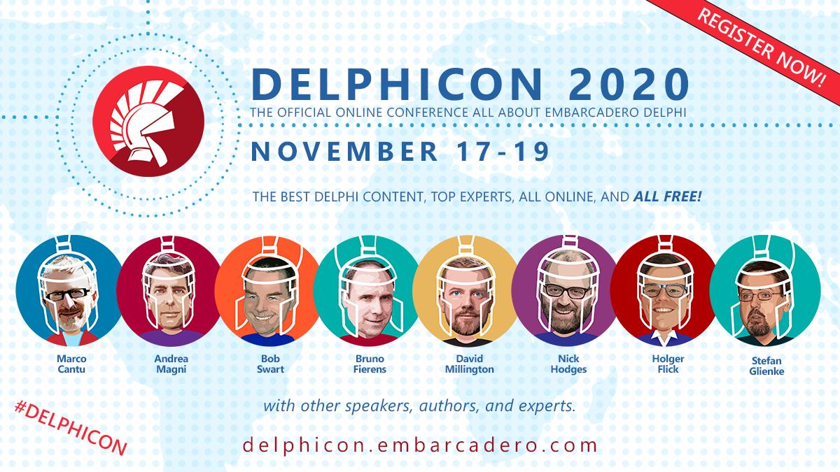 combit sponsert DelphiCon