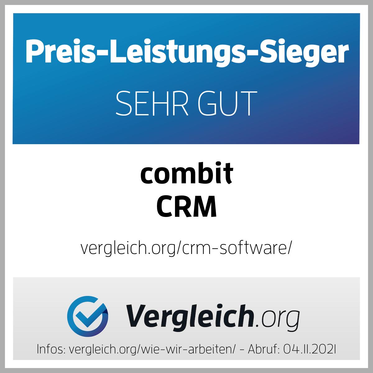 Siegel-combit CRM-11-20