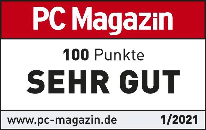 PC Magazin sehr gut 2021