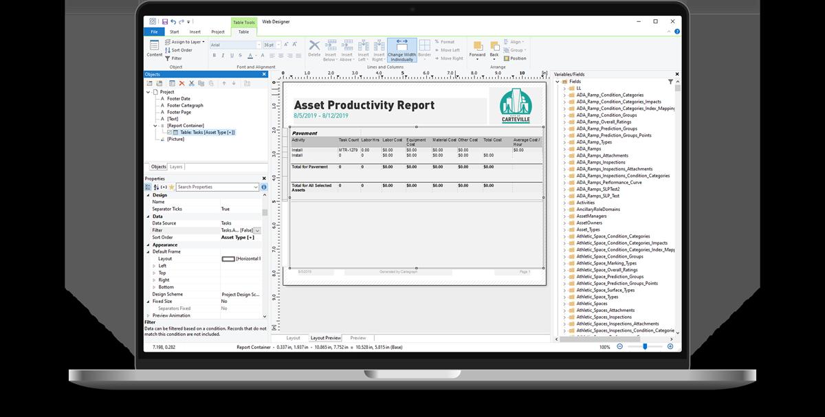 Reports erstellen mit dem List & Label Report Designer