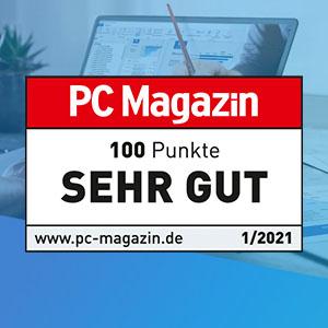 List & Label im PC Magazin Test: Zum Gipfel des (Daten)Olymp